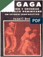 June Rosenberg El Gagareligion y Sociedad de Un Culto Dominicano