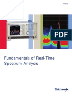 Fundamentals of Real-Time Spectrum Analysis Tektronix DFT FFT Fourier