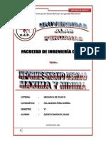 Informe Ensayo Densidad Max y Min