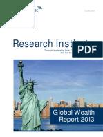 Global Wealth Report 2013
