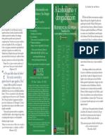 Vol. 3 La Violencia y Sus Victimas Alcoholismo y Drogadiccion