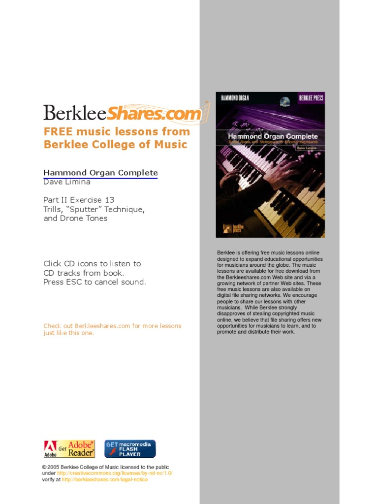 berklee college of music guitar books pdf