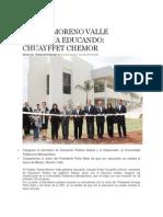 18-07-2013 Hechos Atlixco - Rafael Moreno Valle Gobierna Educando, Chuayffet Chemor