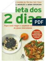 0cb58597e4e1 A Dieta Dos 2 Dias - Dr. Michael Mosley e Mimi Spencer