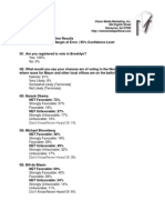 Brooklyn DA Charles Hynes Internal Campaign Poll-October 2013