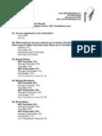 Brooklyn DA Charles Hynes Internal Campaign Poll-October 2013