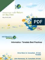 Bos_82-Powercenter Teradata - Best Practices
