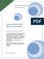 Características De La Opera