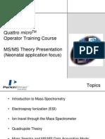 Presentación teórica MS-MS