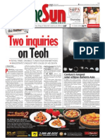 Thesun 2009-07-23 Page01 Two Inquiries on Teoh