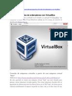Practicas de Redes Virtual Box