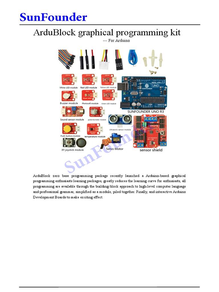 ArduBlocK Study Kit   Servomechanism   Arduino