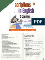 Descriptions in English