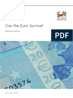 Lachman - Can the Euro Survive?