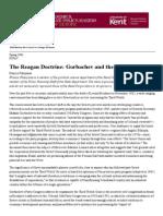 The Reagan Doctrine_ Gorbachev and the Third World