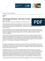 The Reagan Doctrine_ the Guns of July