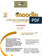 Moodle a Free Learning Management System 23045