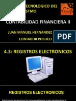 4.3 registros electronicos