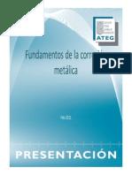 1-Fundamentos de la corrosión metálica
