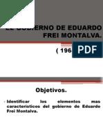 El Gobierno de Eduardo Frei Montalva