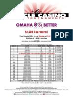 Omaha 8-or-Better Tournament