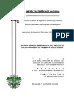 Estudio Teorico Experimental Del Secado de Solidos Porosos en Presencia de Esfuerzos