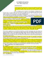 LA CIUDAD Y LOS PERROS,,,,,,ANÁLISIS LITERARIO