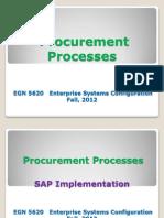 Enterprise Sys Procurement Process