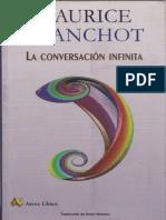 Blanchot LaconversacioninfinitaI