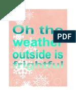 FREE Holiday printable