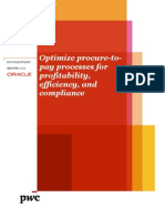 Optimize Procure to Pay Processes Improve