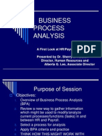 Business Process Analysis