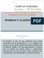Bombas ,Tipos Clasificacion