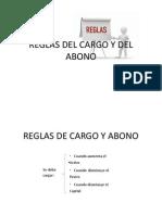 Reglas Del Cargo y Del Abonooo