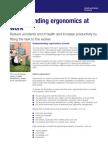Understanding Ergonomics at Work