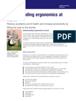 Understanding Ergonomics at Work