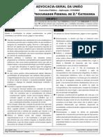 AGU 2002 - Procurador Federal - Grupo 1
