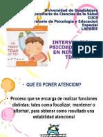 INTERVENCION PSICOEDUCATIVA A NIÑOS CON TDAH