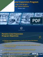 Alvaro Moreno Actualizacion Sobre Ampliacion Del Canal de Panama