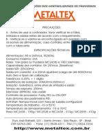 Manual de Operacao Controlador Temperatura