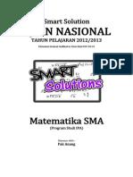 Smart Solution Un Matematika Sma 2013 (Skl 6.3 Peluang Kejadian)
