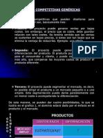 SESIÓN 3 ESTRATEGIAS DE MERCADO