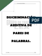 Discriminacion Palabras