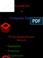Elements of Computer System