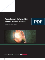Freedom of Information in the Public Sector
