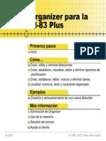 Manual Organizador