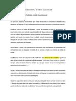 RESUMEN INTRODUCCIÓN A LA LECTURA DE LACAN JOEL DOR