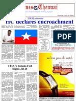 Times Chennai, E Paper 24 July 2009