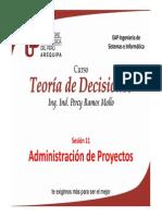 Sesión 11. Administración de Proyectos