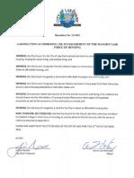 City of Lake Park Resolution 13-1003 (Housing Task Force)